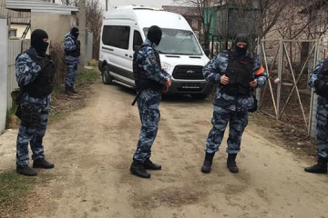 Searches in Crimean Tatars' houses again conducted in occupied Crimea