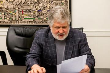Kolomoisky becomes chairman of supervisory board of TV channel 1+1