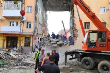 Hauseinsturz in Drohobytsch: Opferzahl auf sechs gestiegen