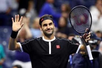 Федерер провел 100-й матч на US Open и стал рекордсменом Grand Slam