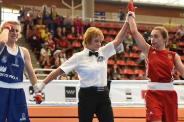 В полуфиналы чемпионата Европы по боксу среди женщин вышли 5 украинок