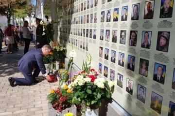 Посол Польши почтил память погибших защитников Украины