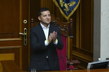 Zelensky submits bills on amendments to Constitution