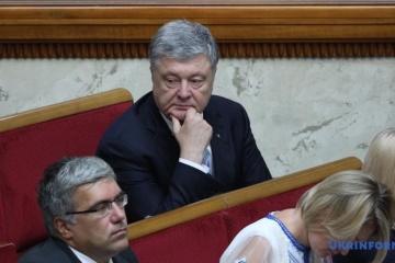 Poroshenko convocado para ser interrogado como testigo en el caso de la alta traición