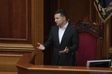Selenskyj: Mit neuem Parlament kann die Ukraine den fünften Gang einlegen
