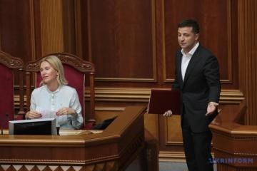 Selenskyj will Werchowna Rada verkleinern
