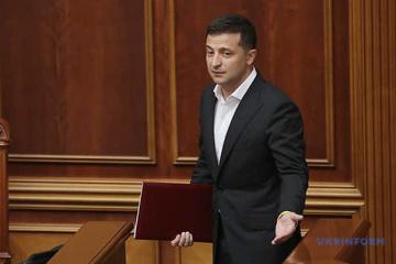 President Zelensky sets new lawmakers tasks