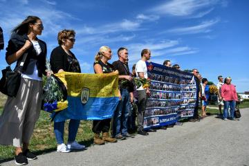 В Запорожье помолились за погибших защитников