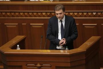 Sahorodnjuk wird Verteidigungsminister