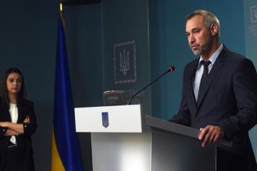 Riaboshapka fires chief military prosecutor Matios