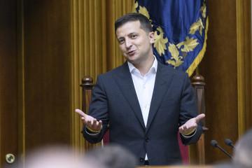 Zełenski sugeruje, aby Rada zmniejszyła liczbę posłów do 300