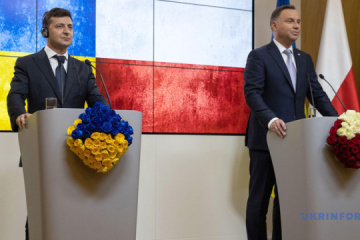 Duda nach Treffen mit Selenskyj: Sanktionspolitik gegen Russland soll fortgesetzt werden
