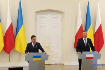 ウクライナとポーランドはノルド・ストリーム2に反対=ゼレンシキー大統領