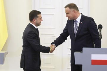 Zelensky, Duda discuss consequences of coronavirus and evacuation of Ukrainians