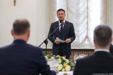 Zelensky says that he will continue course of Ukraine towards EU
