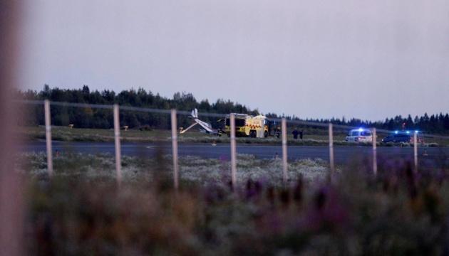 В Финляндии разбился легкомоторный самолет, пилот погиб