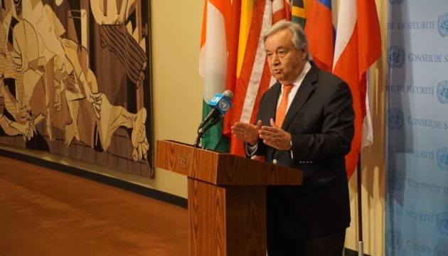 UN ready to support all efforts to end war in Ukraine – Secretary-General Guterres