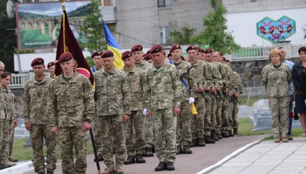 У Житомирі вшанували пам'ять загиблих на Донбасі десантників