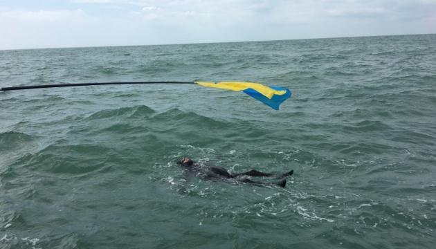 Український паралімпієць переплив Ла-Манш