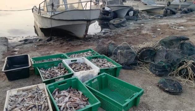 На Херсонщині водна поліція виявила незаконний вилов на 2 млн грн
