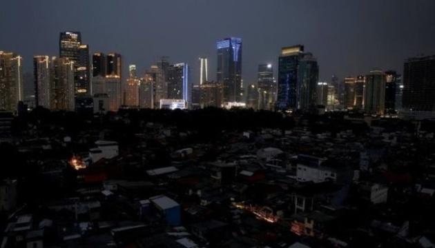 В Індонезії десятки мільйонів людей залишилися без світла