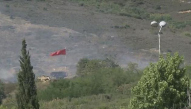 Возле Стамбула горит стрельбище военного училища