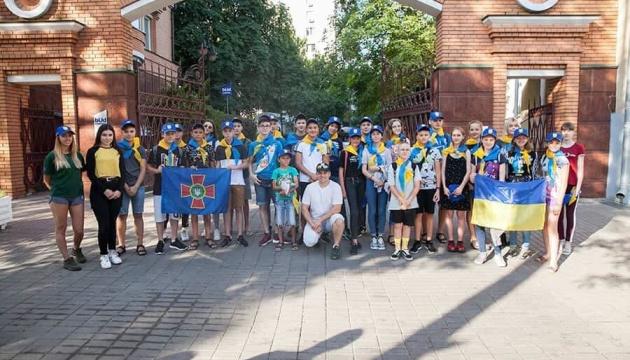 Діти українських військових відпочили в літньому таборі в Латвії