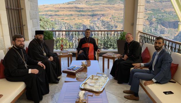 Делегація Православної церкви України відвідала Ліван