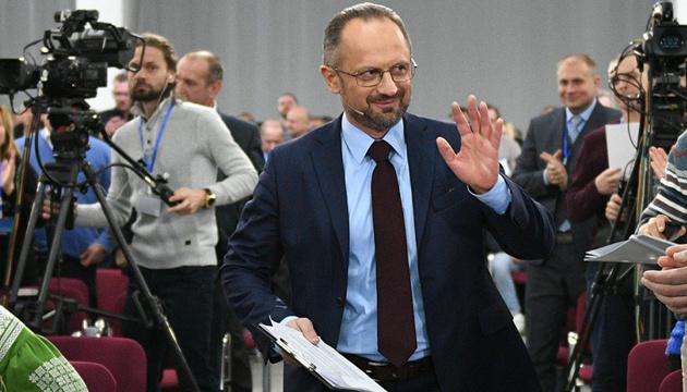 Зеленский освободил Безсмертного от участия в ТКГ