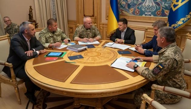 Зеленський проводить нараду через загострення ситуації на Донбасі