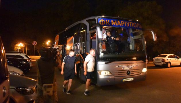 """Футболісти """"Маріуполя"""" в Одесі готуються до поєдинку з АЗ"""