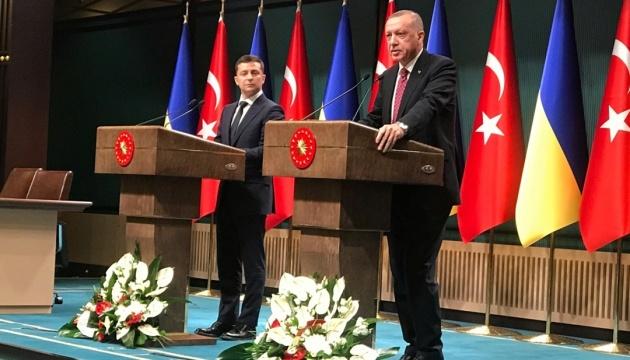 【宇土首脳会談】ゼレンシキー大統領、エルドアン・トルコ大統領と黒海地域・クリミア情勢を協議