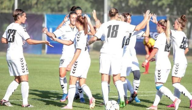 """Футболістки """"Житлобуду-1"""" перемогли """"Спліт"""" на старті відбору жіночої Ліги чемпіонів"""
