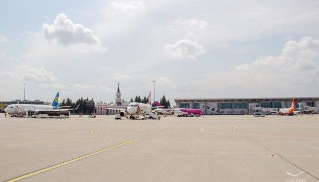 Харківський аеропорт у липні на чверть збільшив пасажиропотік