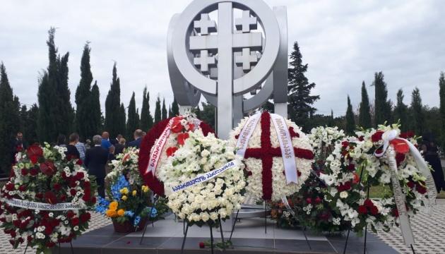 Українські дипломати взяли участь у державних меморіальних заходах у Грузії