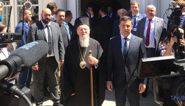 Константинополь ніколи не втручатиметься у внутрішні справи ПЦУ - Варфоломій