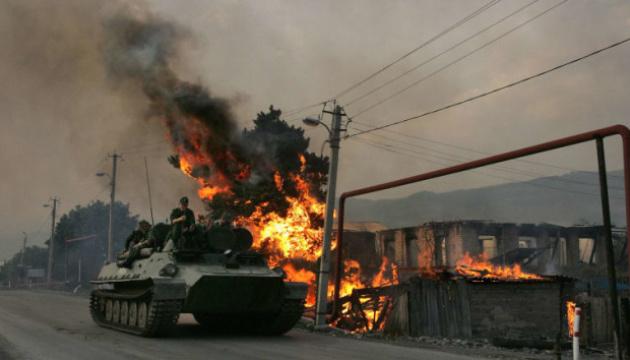 Річниця війни 08.08.2008: країни Балтії закликають РФ дотримуватися міжнародного права