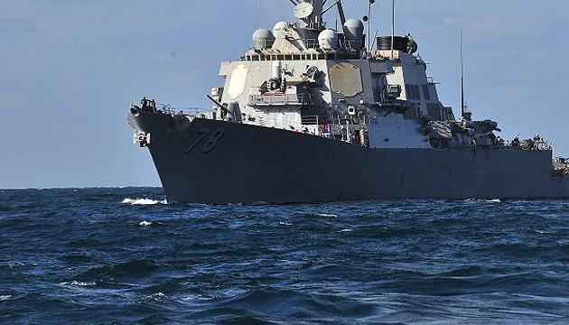 Есмінець BBC США Porter увійшов у Чорне море