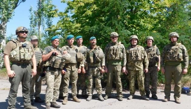 Ivan Bakanov se rend dans la zone de l'opération des Forces unies de l'Ukraine