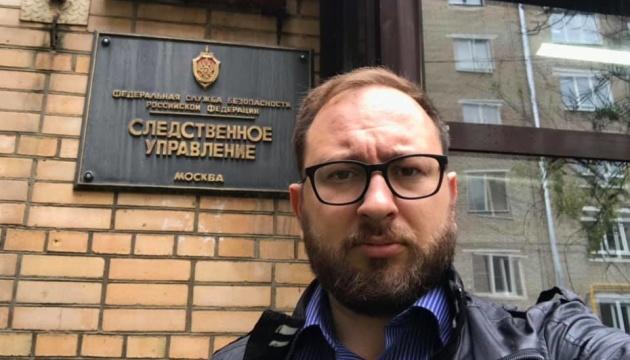 Український моряк Гриценко читає