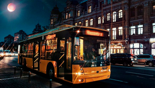 Київпастранс у новорічну ніч перевіз понад 100 тисяч пасажирів