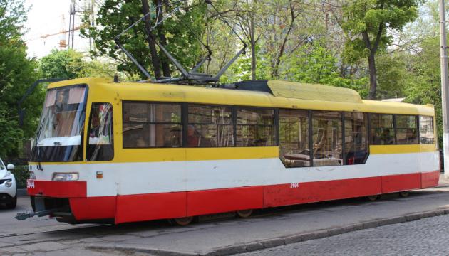 Негода в Одесі зупинила рух трамваїв