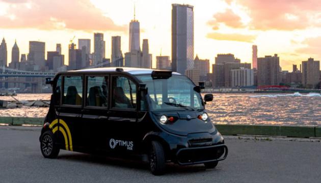 У Нью-Йорку з'явився безпілотний автобусний маршрут