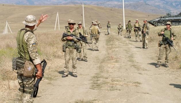 Ukrainian marines take part in Agile Spirit 2019 drills in Georgia
