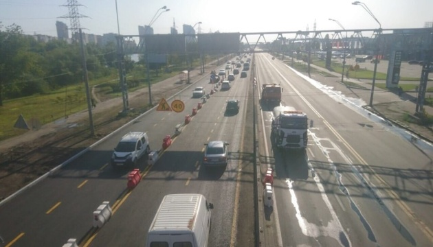 Оновлену частину проспекту Бандери у Києві відкрили для проїзду