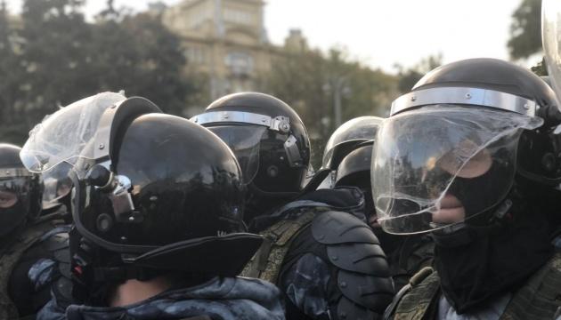 Поліція Москви ловить протестувальників по провулках, деякі райони перекрили