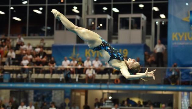 Україна виграла п'яту медаль на ЧЄ зі стрибків у воду