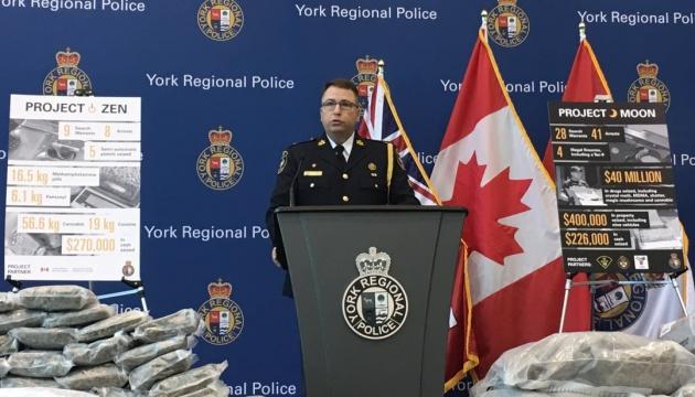 У Торонто вилучили наркотиків на $45 мільйонів