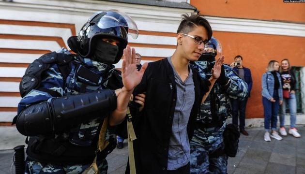 У Москві затримали 256 учасників найбільшої за 8 років акції протесту - ЗМІ