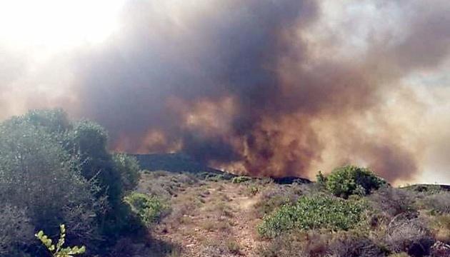 У МЗС попереджають про небезпеку поїздок у Грецію через пожежі